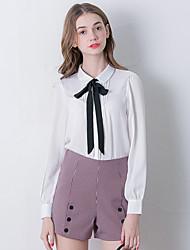 Damen Hose - Retro Kurze Hose Polyester Unelastisch