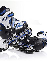 Boy's Athletic Shoes Fall Flats PVC Outdoor Athletic Flat Heel Others Blue Green White Skiing Shoes