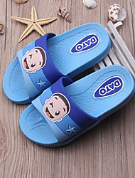 Unisex Slippers & Flip-Flops Summer Slippers / Open Toe PVC Casual Flat Heel Others Blue / Pink / Fuchsia / Navy Others