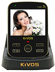 KiVOS KDB302A Video Intercom Doorbell Indoor Wireless Monitoring Camera Lock ABS Material