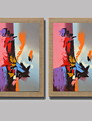 Modern Wall Art Pictures Abstract  Oil Painting Hand-Painted On Linen Home Decoration With Frame