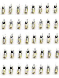 2W G4 Luces LED de Doble Pin T 24 SMD 3014 90-110 lm Blanco Cálido / Blanco Fresco Decorativa DC 12 V 50 piezas