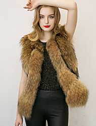 Women's Wrap Coats/Jackets Faux Fur Wedding / Party/Evening Feathers / fur