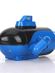 Schnellboot none 777-219 1*72 Rennen RC Boot Bürster Elektromotor 4ch 2.4G / Plastic, Electronic components blue
