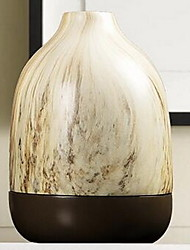 Chinese New Home Ornaments Modern New Marbled Dumb Brown Ceramic Vase Upscale Porcelain Vases (18 * 18 * 19.5CM)