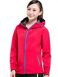 Универсальные Куртка софтшелл для туризма и прогулок Водонепроницаемость Сохраняет тепло С защитой от ветра Защита от излучения Пригодно