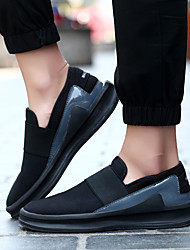 Men's Loafers & Slip-Ons Fall Comfort Suede Casual Platform Others Black / Red / White Others