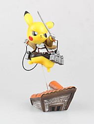 Pocket Little Monster PIKA PIKA PVC 15 Figures Animé Action Jouets modèle Jouets DIY