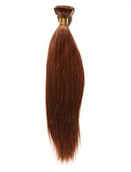 1 Pièce Yaki Tissages de cheveux humains Cheveux Indiens 85-100g 10-20Inch Extensions de cheveux humains