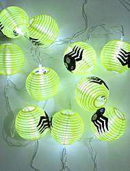 1pc ted decoração suprimentos abóbora halloween aranha bar KTV abóbora A cabeça fantasma lâmpada noite lanternas de cordas