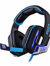 Each G8200 USB 7.1 Gaming Headphone Surround Sound Vibration System with Microphone LED Light