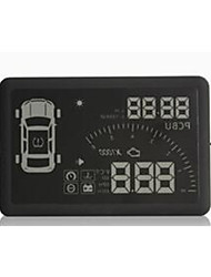 HUD olhou instrumento display digital OBD display head-se HUD computador hd bordo