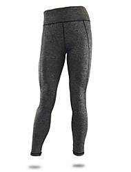 Women's Elastic Quick Dry Tights Compression Long Sports Pants Fitness Running Leggings