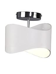 9 W Montage de Flujo ,  Moderno / Contemporáneo Otros Característica for LED / Mini Estilo PlásticoSala de estar / Dormitorio / Comedor /