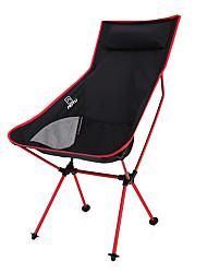 bump avec chaise pliante oreiller extérieure chaise ultra légère en aluminium chaise lune alliage chaise de loisirs de dossier pour la