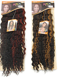 cabelos liberdade de ouro nobre 1pc 26 melhores extensões de cabelo sintético de qualidade alta temperatura