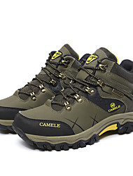 Men's Athletic Shoes Spring / Fall / Winter Work & Safety Leather Outdoor Sport / Climb Green / Khaki Walking / Hiking /