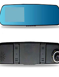 The double record of the vehicle recorder 1080P in the rear view mirror