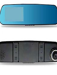 двойная запись рекордера автомобиля 1080p в зеркало заднего вида