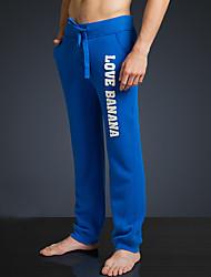 LOVEBANANA® Masculino Activo Calças Azul Real-34002