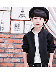 Boy's Casual/Daily Solid Suit & BlazerCotton Winter / Fall Black / Green