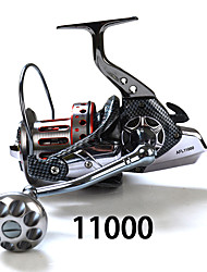 Moulinet spinnerbaits 4:7:1 11 Roulements à billes Echangeable Pêche en mer-SP11000 fishdrops
