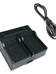 W126 Digital Camera Battery Dual Charger for FujiFilm NP-W126 X-PRO1 HS33 HS35 HS33EXR HS30EXR