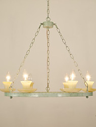 Wrought Iron Candle Bull Droplight