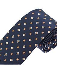 Wedding Party Casual Men Polyester Silk Necktie Tie