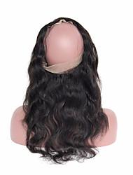 4Pcs/Lot 10''-30'' Peruvian Virgin Hair Body Wave Hair Weft with 360 Lace Frontal Peruvian Body Wave Hair Bundles