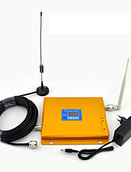 GSM 900MHz 3g W-CDMA- 2100MHz Signal Booster Handy-Signal-Repeater-LCD-Display / Dualband