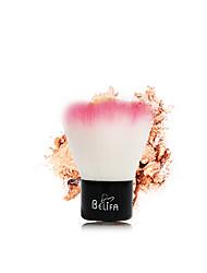 1 Pincel para Blush / Pincel para Pó Escova de Cabelo Mink Profissional / Antibacteriano / Hipoalergênico / Portátil Metal Rosto Outros
