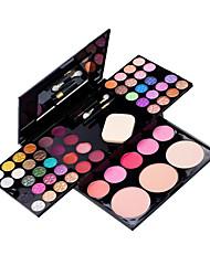 54 Paleta de Sombras Secos Paleta da sombra Pó Grande Maquiagem para o Dia A Dia