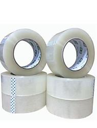 dois transparente 4,8 centímetros * 25 milímetros fitas de vedação por embalagem