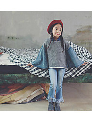 Girl's Casual/Daily Solid JeansCotton Winter / Spring / Fall Gray