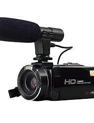 ORDRO HDV-Z20 With External Microphone 1080P FULL HD& WIFI Connection 8MP Sony Sensor 24MP Image Resolution