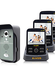 KiVOS KDB300 Wireless Visual Intercom Doorbell Household Monitoring Video Camera Lock