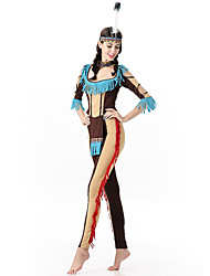 Women's Primitive Indian People Halloween Costume