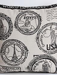 linge oreiller couverture / cas, timbres traditionnels / classique tissés disposent