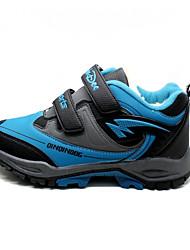 Unisexe-Décontracté-Bleu-Talon Plat-Bout Arrondi-Chaussures d'Athlétisme-Polyuréthane