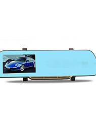 Rétroviseur enregistreur de conduite vidéo 1080p HD vision de nuit avant et après la surveillance de stationnement