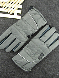 Business In Autumn And Winter Cold Thin Gloves Plus Velvet Thick Warm Cotton Gloves Driving Motorcycle Ride
