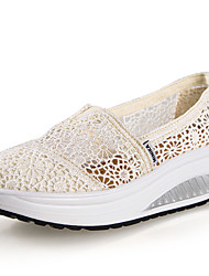 Women's Flats Summer Comfort Canvas Outdoor Flat Heel Others Others