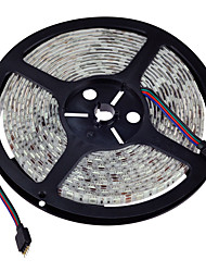 5m SMD5050 IP65 rgb 300led luz tira flexível (DC12V)