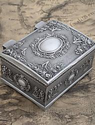 Cajas de Joyería Legierung 1 pieza Plateado