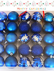 The Christmas Tree Christmas Decoration Christmas Decoration Ball Ball Ball Ball 6Cm30 A Christmas Tree Gift Box