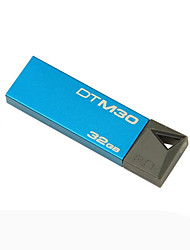 Kingston DTM30 Pen Drive 32GB USB 3.0 Mini Metal Stick Pendrive Flash Disk