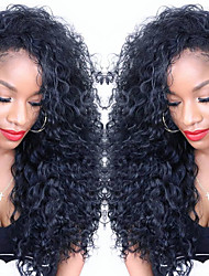 Curly U Part Lace Front Wigs For Women Brazilian Virgin Middle Part Lace Front Human Hair Wigs