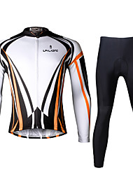 PALADIN® Cycling Jersey with Tights Men's Long Sleeve BikeBreathable / Quick Dry / Ultraviolet Resistant / Reflective Strips / Back