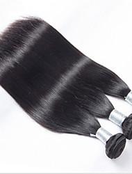 Menschenhaar spinnt Brasilianisches Haar Gerade 12 Monate 3 Stück Haar webt